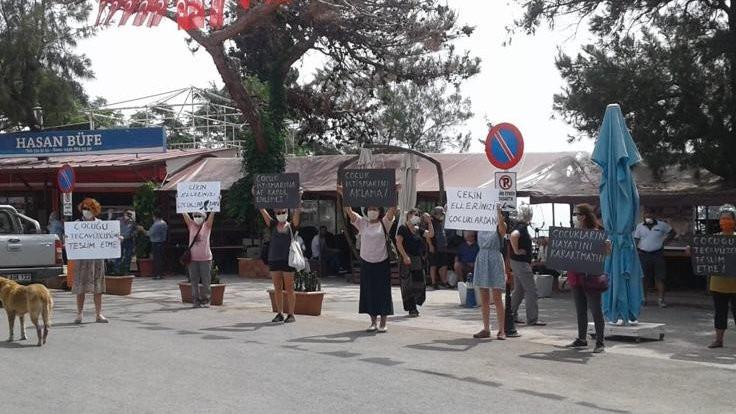 Kadın platformundan yasa taslağı eylemi