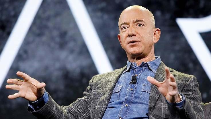 Jeff Bezos'un serveti 172 milyar dolarla yeni rekor kırdı