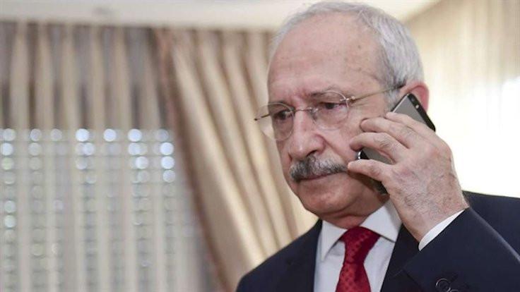 Kılıçdaroğlu'ndan doktor Ersöz'e telefon