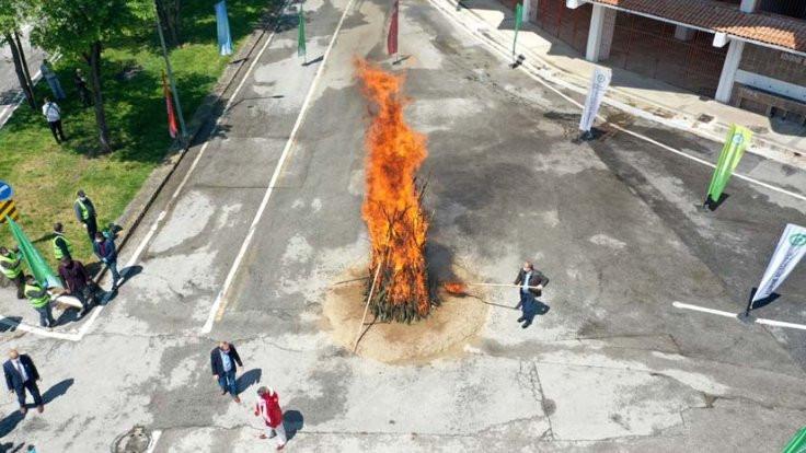 Kakava ateşi sembolik yakıldı