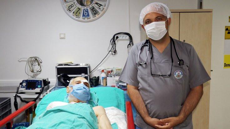 93 yaşındaki hastaya kalp pili takıldı