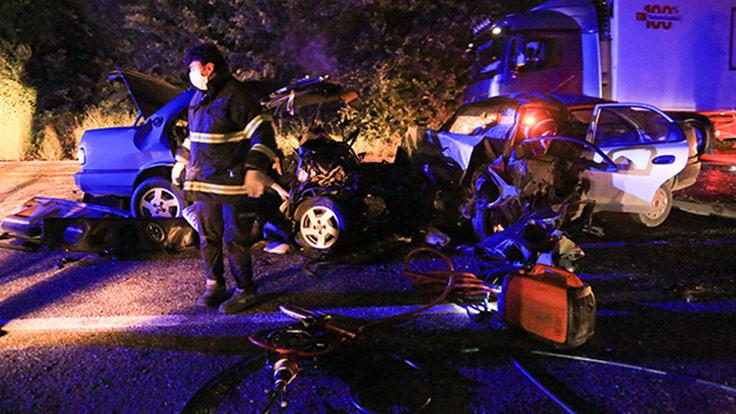 Muğla'da kaza: 2 ölü 1 yaralı