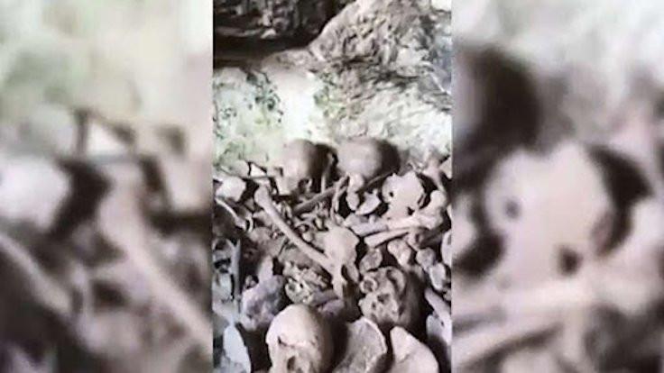 Mardin'de bir mağarada 40 kafatası bulundu