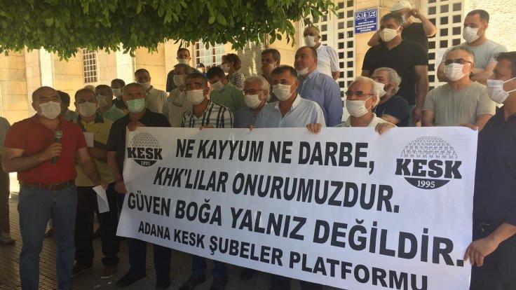 Adana'da kayyım tehdidine suç duyurusu
