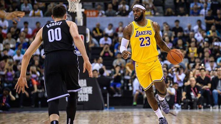LeBron James NBA'de sezonun tamamlanmasını istiyor