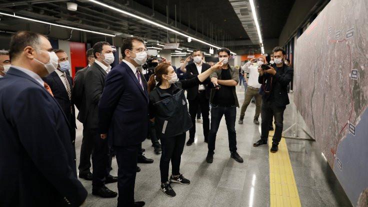 Mahmutbey metrosuna korona rötarı