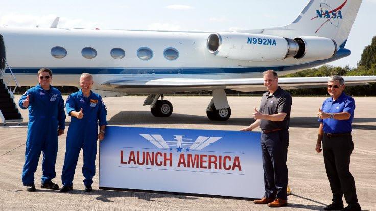 NASA ve SpaceX: İnsanlı roket fırlatımı için hazırız