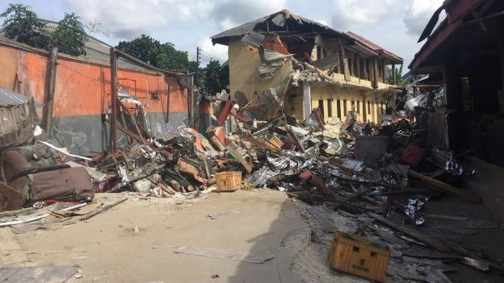 'Karantinayı ihlal eden' otelleri yıktılar