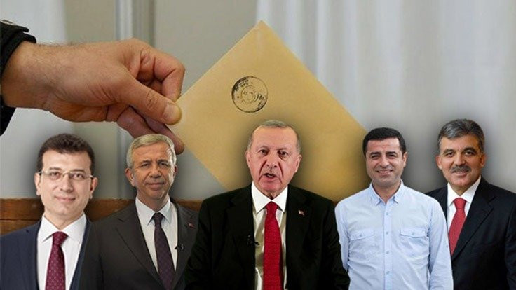 Anket: Erdoğan'a karşı iki isim öne çıkıyor