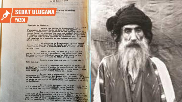 Seyid Rıza, Dersim ve iki mektup
