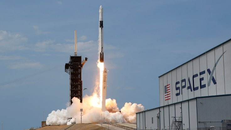 SpaceX kapsülü Uluslararası Uzay İstasyonu'na bağlandı
