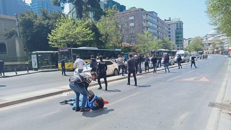 Taksim'e yürüyen gruba gözaltı