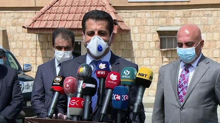 IKBY Sağlık Bakanı: Salgın kontrolden çıktı