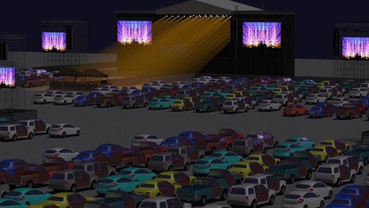'Yeni normal': Arabalı konserler başlıyor
