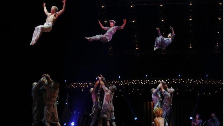 Cirque du Soleil iflas etti
