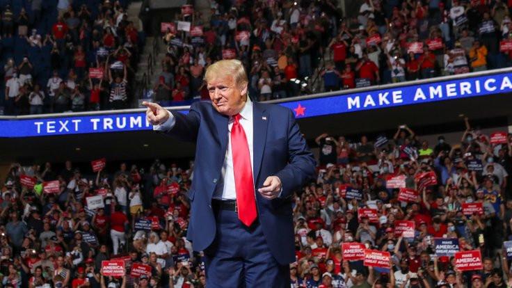 Trump: Testleri yavaşlatma talimatı verdim