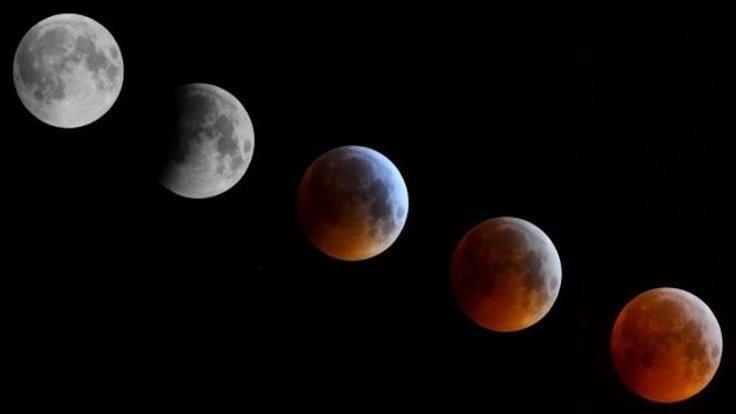 Kısmi Ay tutulması yaşanacak