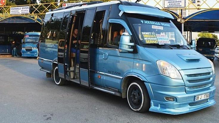 Ankara'da dolmuşlara ayakta yolcu yasak