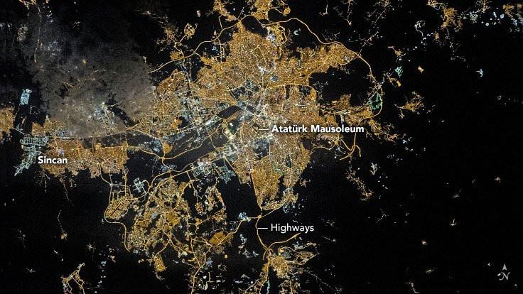 NASA'dan günün fotoğrafı: Ankara gecesi - Sayfa 1