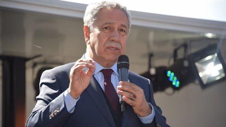 MHP'den Arınç'a: Erdoğan'ın sırtındaki kambur