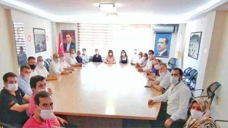 Devlet kurumlarından AK Parti'ye ziyaret
