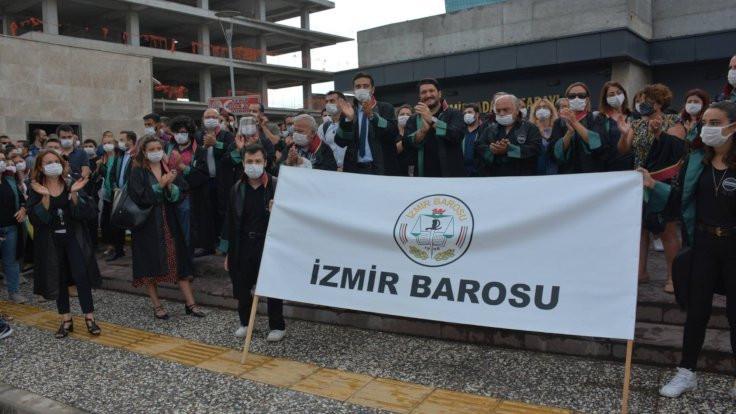 İzmir Barosu'ndan yürüyüş çağrısı: Direneceğiz