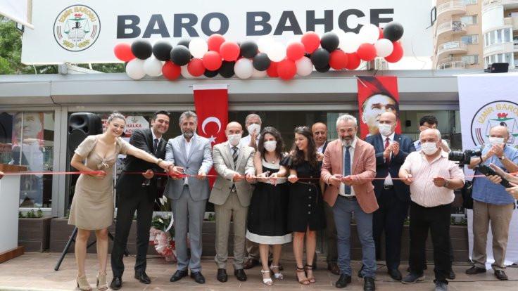 İzmir'de Baro Bahçe açıldı