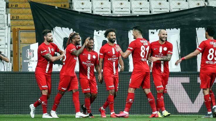 Antalyaspor deplasmanda Beşiktaş'ı mağlup etti