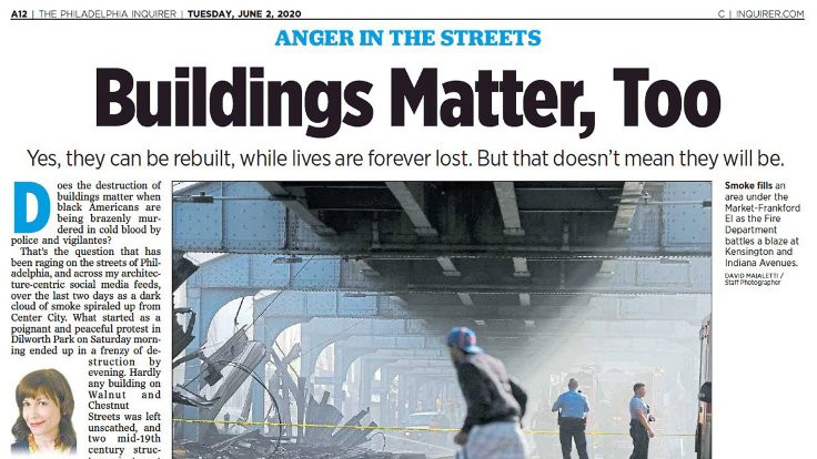 'Binalar da önemlidir' manşetine tepki