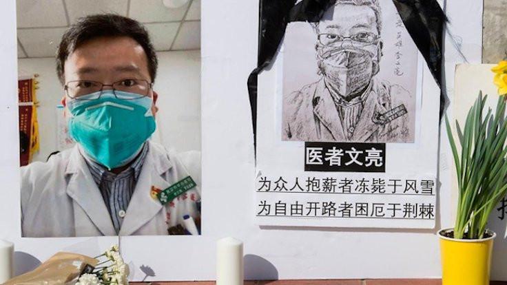 Kahraman ilan edilen Çinli doktorun oğlu oldu