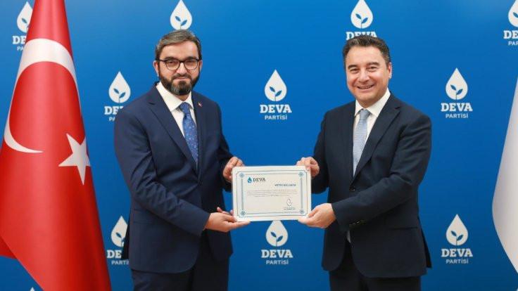 DEVA'nın ilk il başkanı atandı