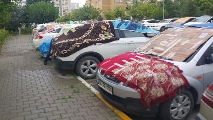 Ankara'da dolu uyarısı