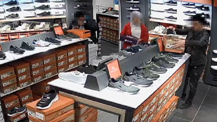 AVM'lerden sipariş üzerine hırsızlık