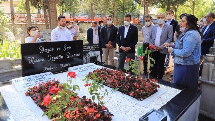 Hasan İzzettin Dinamo mezarı başında anıldı