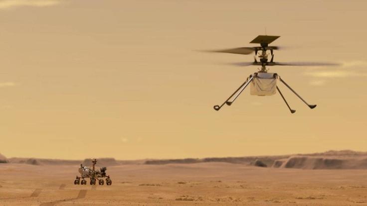 Mars'ta ilk kez helikopter uçacak