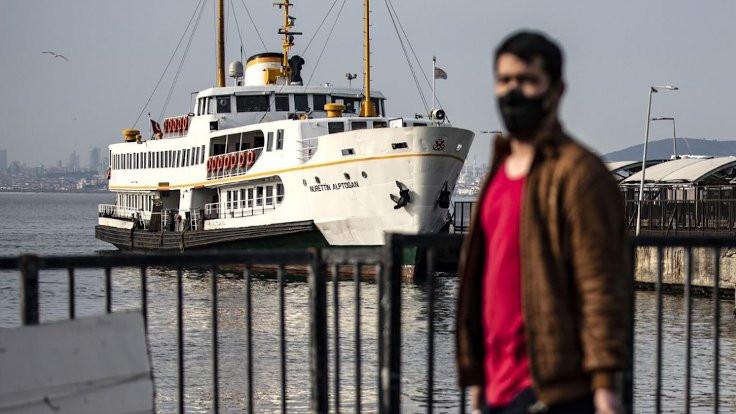 İstanbul haritası, 'normalleşmeyin' diyor