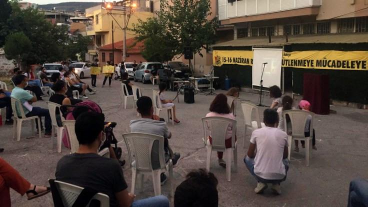 Güzeltepe'de 15-16 Haziran anması