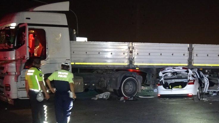 Adana'da kaza: 2 kişi öldü