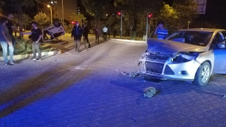 Adıyaman'da kaza: 7 yaralı