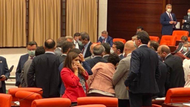 Meclis'te yumruklu saldırı günü yaşananlar: Konuşma hakkına engel