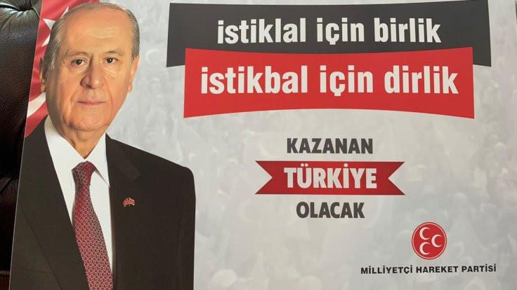 MHP sloganlarını belirliyor