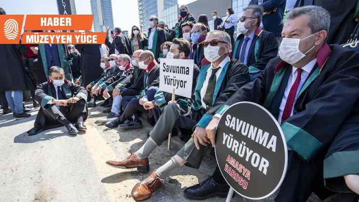 Baro başkanlarına Ankara girişinde polis barikatı