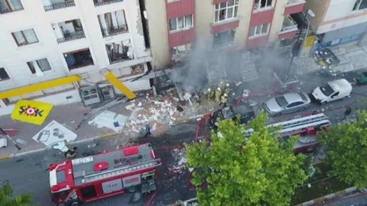 Bahçelievler'de patlama: 1 ölü