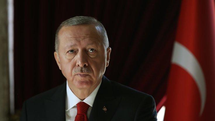 Yayın öncesi Erdoğan'ın görüntüleri