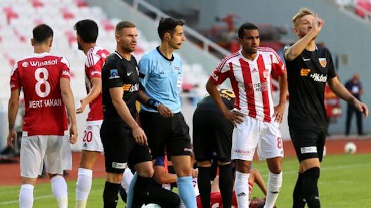 Sivasspor sahasında yenildi: 2-0