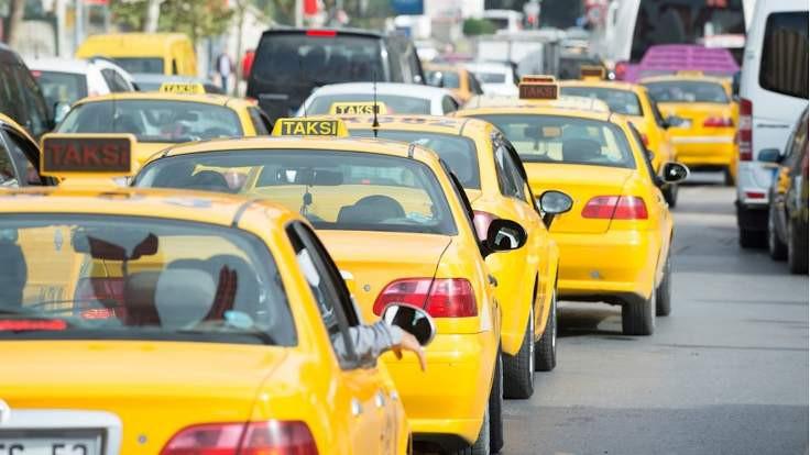 İstanbul'da yeni taksiye ret