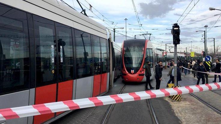 Kabataş-Bağcılar tramvay hattında arıza