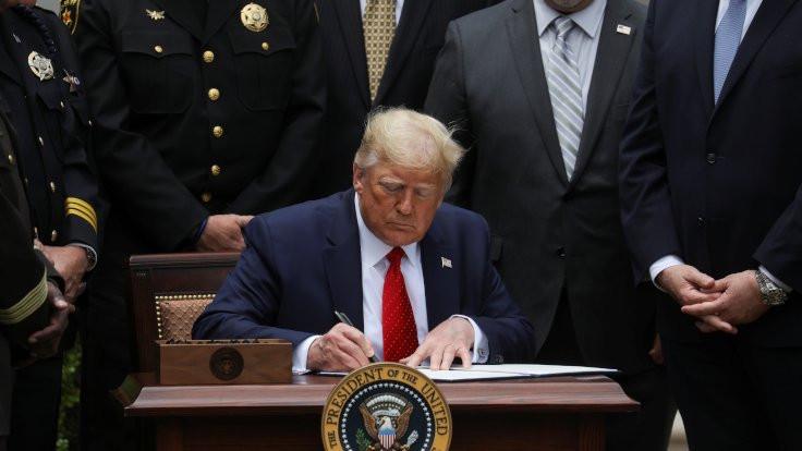 Trump, 'polis reformunu' onayladı