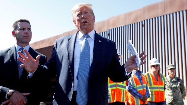 'Pentagon bütçesinden duvar örülmesi yasal değil'