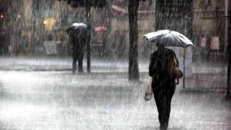 Kuvvetli yağış uyarısı geldi